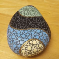 Made with the Mandala Dotting Tools available @ www.diymandalastones.com This is what happens when you just numb out and the art takes over. #diymandalastones #dotsonly #dots #rockpainting #stoneart #stone #art #arttherapy