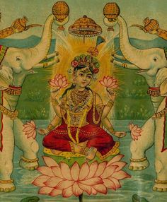 Goddess Gaja Lakshmi