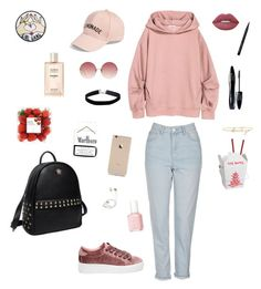 """""""Senza titolo #102"""" by alicemasiero ❤ liked on Polyvore featuring Topshop, Amici Accessories, Linda Farrow, Lime Crime, Steve Madden, Princess Carousel, Bobbi Brown Cosmetics, Lancôme, Miss Selfridge and Essie"""