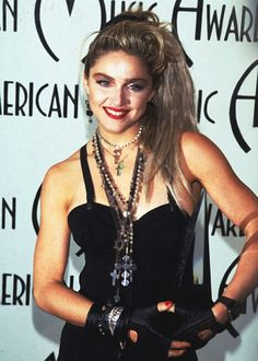 "Madonna in 1984 ""I want to rule the world."""