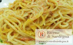 SPAGHETTI WITH SEA URCHINS AND MULLET BOTARGO