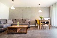 """Słoneczny apartament """"Chmielna Garden II"""" z prywatnym ogrodem znajduje się w samym sercu Gdańska, na Wyspie Spichrzów. Table, Furniture, Home Decor, Decoration Home, Room Decor, Tables, Home Furnishings, Home Interior Design, Desk"""