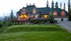 Elk View Lodge is located in Fernie, British Columbia and about two miles away from downtown. The lodge was specifically. Alpine Lodge, Winter Mountain, Mountain Resort, Outdoor Ceremony, Log Homes, Rocky Mountains, Hotels And Resorts, Lodges, Backdrops