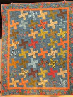 """Tranquility by ladybug quilting.  """"Wild Things"""" pattern by Thimbleblossoms"""