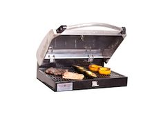 NEW Stainless Steel Professional Barbecue Box and Camp Chef Square Skillet. This may be the answer for my hubby.