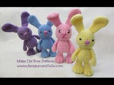 Crochet Along Little Bigfoot Bunny - YouTube