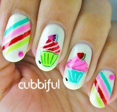 cubbiful: Watermelon Cupcakes