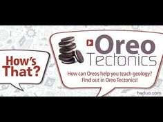Oreo Tectonics--use 4 Oreos to illustrate different fault lines!
