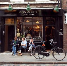 Monmouth Coffee by Nina's clicks, via 500px