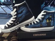 Vampire's Love! Halloween custom converse