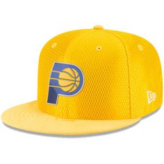 newest 1df25 69a0a Men s Indiana Pacers New Era Gold NBA On-Court Original Fit 9FIFTY  Adjustable Hat