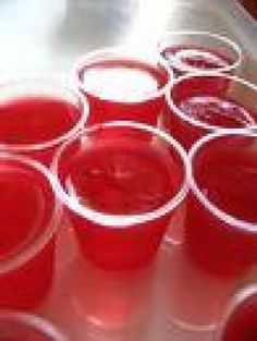 Strawberry Daiquiri Jello Shots