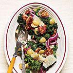 Sauteed Sausage and Grapes with Broccoli Rabe Recipe | MyRecipes.com