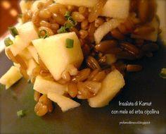 Insalata di Kamut e mele