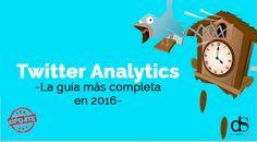 twitter analytics: La guía más completa en 2016