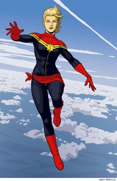 Carol's current Captain Marvel costume is more appropriate to the character, certainly, but less visually interesting than, say, the Dave Cockrum redesign. Description from theouthousers.com. I searched for this on bing.com/images