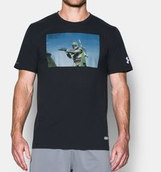 Under Armour Men's UA Star Wars Boba Fett T-Shirt