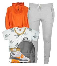 """""""Only thing bigger than my ego is my mirror."""" by cheerstostyle ❤ liked on Polyvore featuring Add, NIKE, Bulova and CÉLINE"""