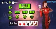 Create your MultiPlyer Royal #Poker 3D #Game from GameYan Art Outsourcing Studio