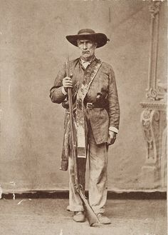 This astonishing photo is of legendary Texas Ranger Bigfoot Wallace. Per his Wiki, Wallace fought at the battles of Salado Creek, Battle of Hondo River, and Mier. Some of his most graphic memories were of his experiences in Perote Prison after having survived the Black Bean Incident. Wallace later participated in the Mexican-American War Battle of Monterrey and the Comanche Wars.