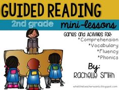 This pack is full of ideas to help you plan for your guided reading mini-lessons (2nd grade). These lessons are perfect for you small group, but many can be used in whole group! This goes great with the Common Core State Standards and goes with ANY book (informational and narrative).