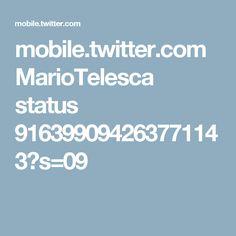 mobile.twitter.com MarioTelesca status 916399094263771143?s=09