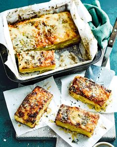 There's slicing, infusing and layering to be done, but the indulgently good finished result makes our dauphinois potatoes utterly worth it. Vegetable Dishes, Vegetable Recipes, Vegetarian Recipes, Cooking Recipes, A Food, Good Food, Food And Drink, Yummy Food, Potato Dishes