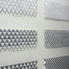 """""""These Marble gems have just arrived into our warehouse! Available in store very soon! #marble #triangle #chevron #bathroominspo #dilorenzotiles"""""""
