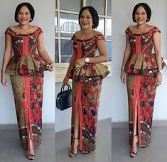101 Latest Stylish and Creative Ankara skirt and blouse styles for wedding Guest Vol <br> African Dresses For Kids, African Wear Dresses, Latest African Fashion Dresses, African Print Fashion, African Attire, Ankara Fashion, Africa Fashion, Ankara Rock, Ankara Skirt