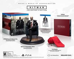Hitman Collectors Edition  PlayStation 4 -- Details can be found by clicking on the image.Note:It is affiliate link to Amazon.