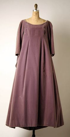 Evening Dress, Yves Saint Laurent (French (born Algeria) Oran 1936–2008 Paris) for the House of Dior (French, founded 1947): 1958-1959, French, silk.
