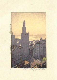 New York by Hiroshi Yoshida, 1928