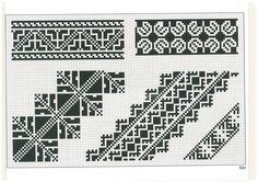 cross stitch, romanian pattern 21