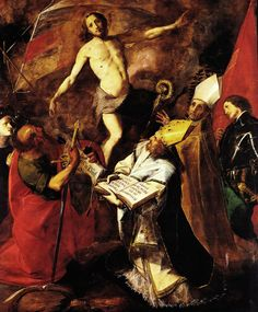 Giovanni BattistaCrespi, detto il Cerano - Resurrezione e Santi - 1626