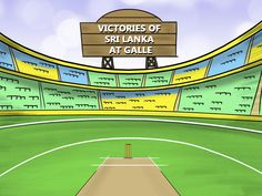 Let's have a look at the past matches played by Sri Lanka at Galle which is their fortress. We have compared the win ratio of Sri Lanka at Galle in this article. Baseball Field, Sri Lanka, Cricket, Victorious, The Past, Let It Be, Baseball Park