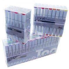 Caneta Copic Marker... Você Merece!!!  http://www.desenhoepintura.com.br/categoria/caneta-copic-marker/