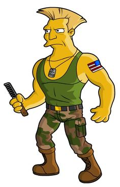 Popular Characters Parodied As Simpson Characters - DesignTAXI.com