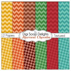 50% OFF TODAY Fall Digital Papers Bundle w by DigiScrapDelights #Scrapbooking #Fall #Autumn #Scrapbookingkits #DigiScrapDelights #ClipArt #Harvest #DigitalPapers