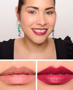 Dolce and Gabbana Dahlia (320) Classic Cream Lipstick Review & Swatches