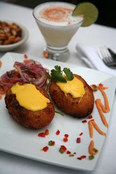 Peruvian stuffed potatoes - Papa Rellena   New World Review