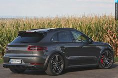 TechArt's 2015 Porsche Macan Turbo.Follow the page for a gorgeous interior as well.