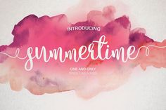 {Free Font}Summertime - FREE for 5 Days, Aug 3!  This font is PUA encoded meaning that it is fully accessible to everyone and all glyphs are available in Character Map on Windows and Fontbook on Mac.  It is licensed under our Premium Font License which allows commercial use.