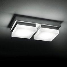 http://ift.tt/1Pfjuvi CMYK 0209-2 Wandleuchte Deckenleuchte rechteckig IP20 LED für bis zu 10W 21810960MM 230V ACWarmweiß ; für Wohnraum Bad Flur Wand Decke !(iqeti)#