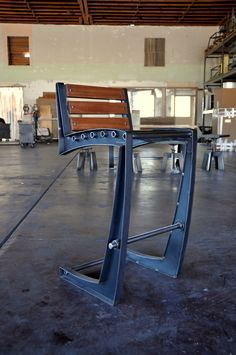 I need my father in law to teach me to weld. - I can find a place for a couple stools, if they look like this