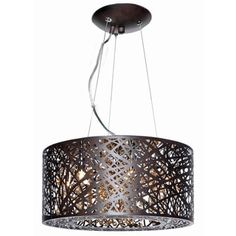 Shop for Inca Bronze Metal/ Steel 7-light Single Pendant. Get free shipping at Overstock.com - Your Online Home Decor Outlet Store! Get 5% in rewards with Club O!