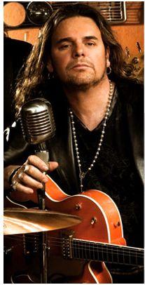 Fher Olvera, lead singer of Latin rock band, Maná.