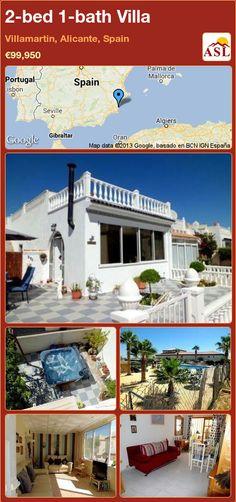 2-bed 1-bath Villa in Villamartin, Alicante, Spain ►€99,950 #PropertyForSaleInSpain