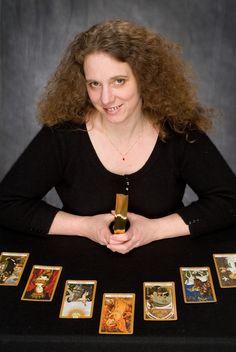 A written and video review of Kat Black's Golden Tarot, from Christiana Gaudet.