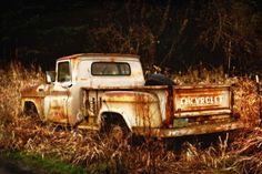 Old Rusty Truck - 8x12 Fine Art Print. $28.00, via Etsy.