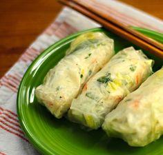 Recipe for lemon-basil shrimp (or lobster) salad rolls {The Perfect Pantry}